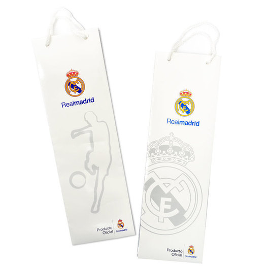 BOLSA REGALO BOTELLA REAL MADRID